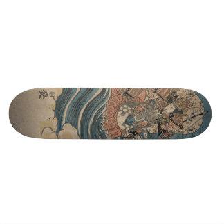 Samurai on Horseback circa 1830 Skateboard Deck