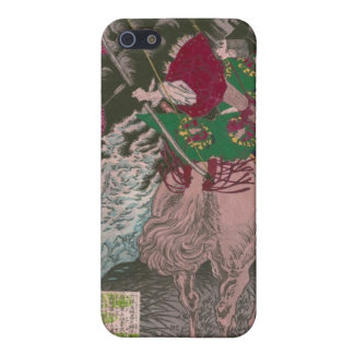 Samurai on Horseback Shooting a Dragon c. 1800s iPhone 5 Cases