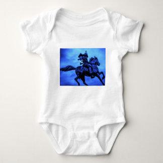 Samurai On Warhorse Baby Bodysuit