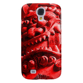 Samurai Oni Mask 赤鬼 Samsung Galaxy S4 Case