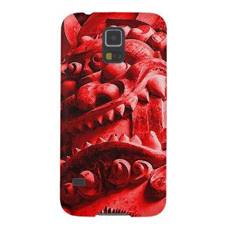 Samurai Oni Mask 赤鬼 Case For Galaxy S5
