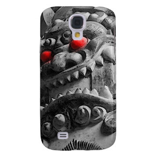 Samurai Oni Mask 赤鬼 Galaxy S4 Cover