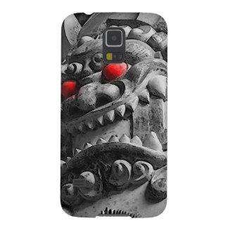Samurai Oni Mask 赤鬼 Galaxy S5 Cover