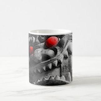 Samurai Oni Mask 赤鬼 Coffee Mug