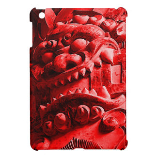 Samurai Oni Mask 赤鬼 Cover For The iPad Mini