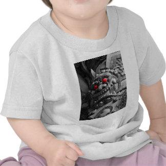 Samurai Oni Mask 赤鬼 Tshirt