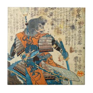 Samurai Orenji Tile