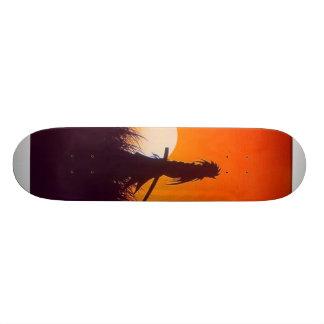 samurai oscuro patines personalizados