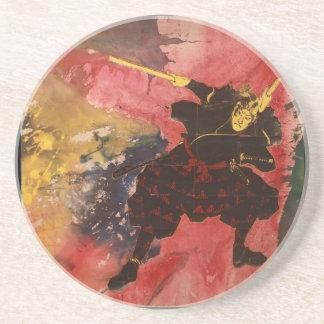 Samurai Painting Coasters