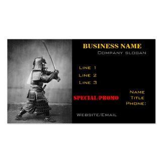 Samurai Photo business card