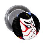 Samurai Pin Redondo 5 Cm