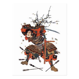 Samurai Postcard