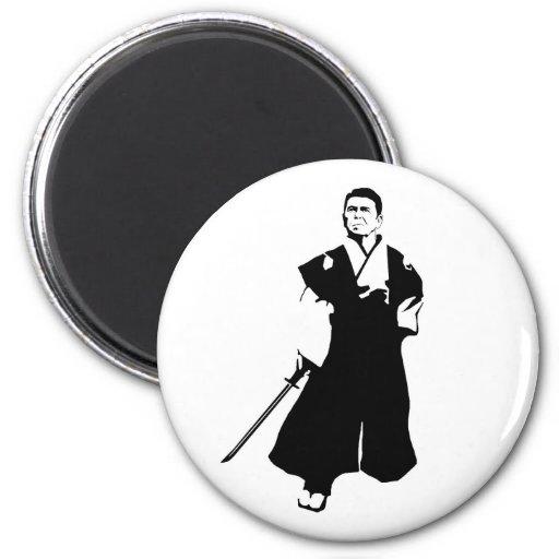 Samurai Reagan Iman De Frigorífico