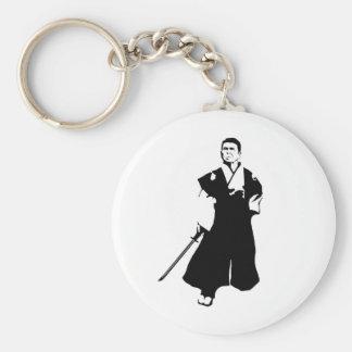Samurai Reagan Keychain