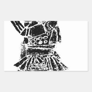 Samurai Rectangular Sticker