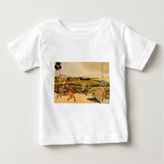 Samurai Riding On Horses Tee Shirt