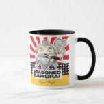 Samurai sazonado taza