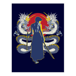 Samurai Seven Postcard