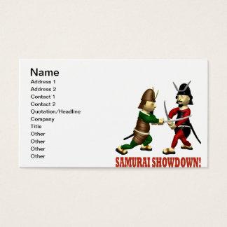 Samurai Showdown Business Card