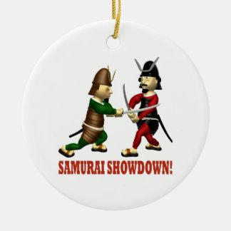 Samurai Showdown Christmas Tree Ornament