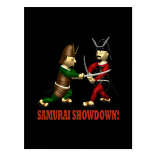 Samurai Showdown Postcard