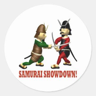 Samurai Showdown Stickers