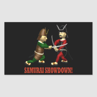Samurai Showdown Rectangle Stickers
