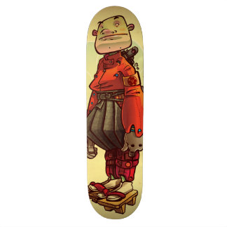 samurai skateboard deck