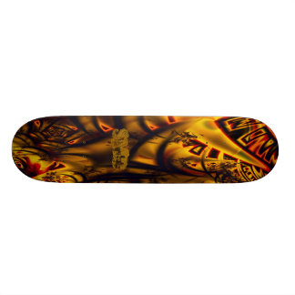 Samurai skateboard Style II