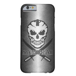 Samurai, Skull and Katana Barely There iPhone 6 Case
