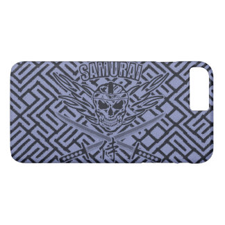 Samurai Skull, Dokuro, Katana and Hachimaki iPhone 7 Plus Case