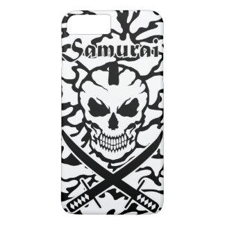 Samurai Skull, Dokuro, Katana and Japan iPhone 7 Plus Case