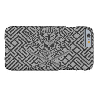 Samurai Skull, Dokuro, Katana and Kanji Barely There iPhone 6 Case