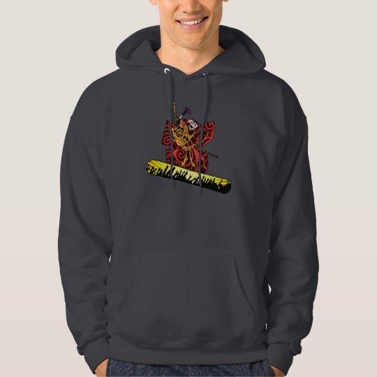 Samurai Snowboarder Hoodie