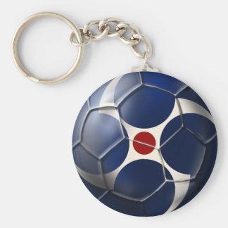 Samurai soccer ball deep grrove Japan Soccer ball Keychains