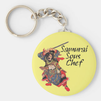 Samurai Sous Chef Keychain