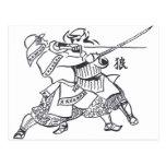 Samurai spirit 1 tarjetas postales