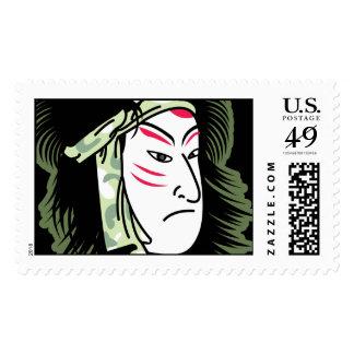 samurai stamp