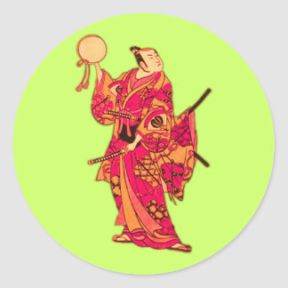 Samurai Stickers