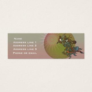 Samurai Sun Business Card