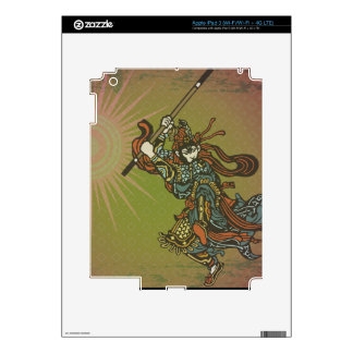 Samurai Sun Decal For iPad 3