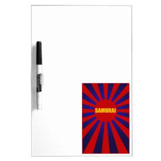 samurai sun rising 2 Dry-Erase whiteboards