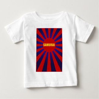 samurai sun rising 2 infant t-shirt