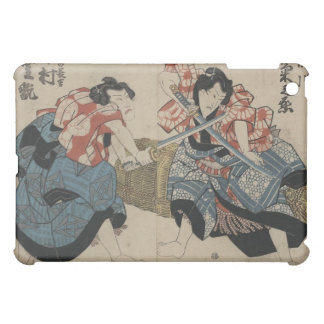 Samurai Sword Fight circa 1825 iPad Mini Cover