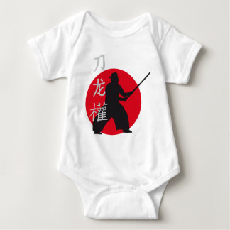 samurai sword mameluco de bebé
