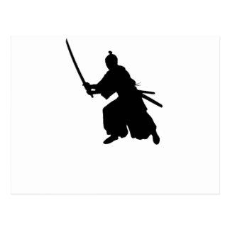 Samurai Sword Postcard