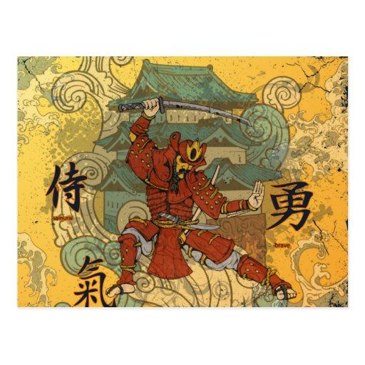 Samurai Tarjetas Postales