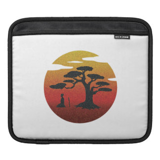 Samurai Under Tree Sleeve Sleeves For iPads