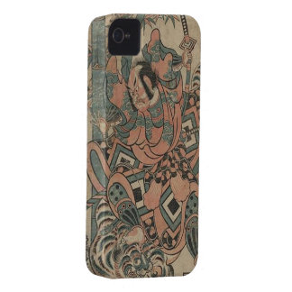 Samurai:  Vintage Japan iPhone 4 Case