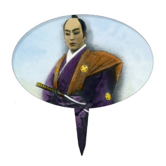 Samurai VIntage Japanese 侍 Cake Topper